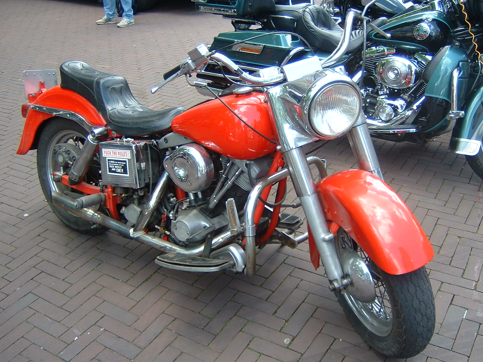 Harley-Davidson FLTC 1340 (with sidecar) (reduced effect) #2