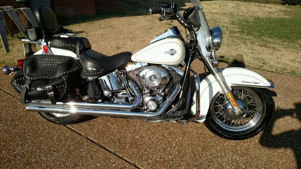 2001 Harley-Davidson Heritage Softail Classic Injection #10