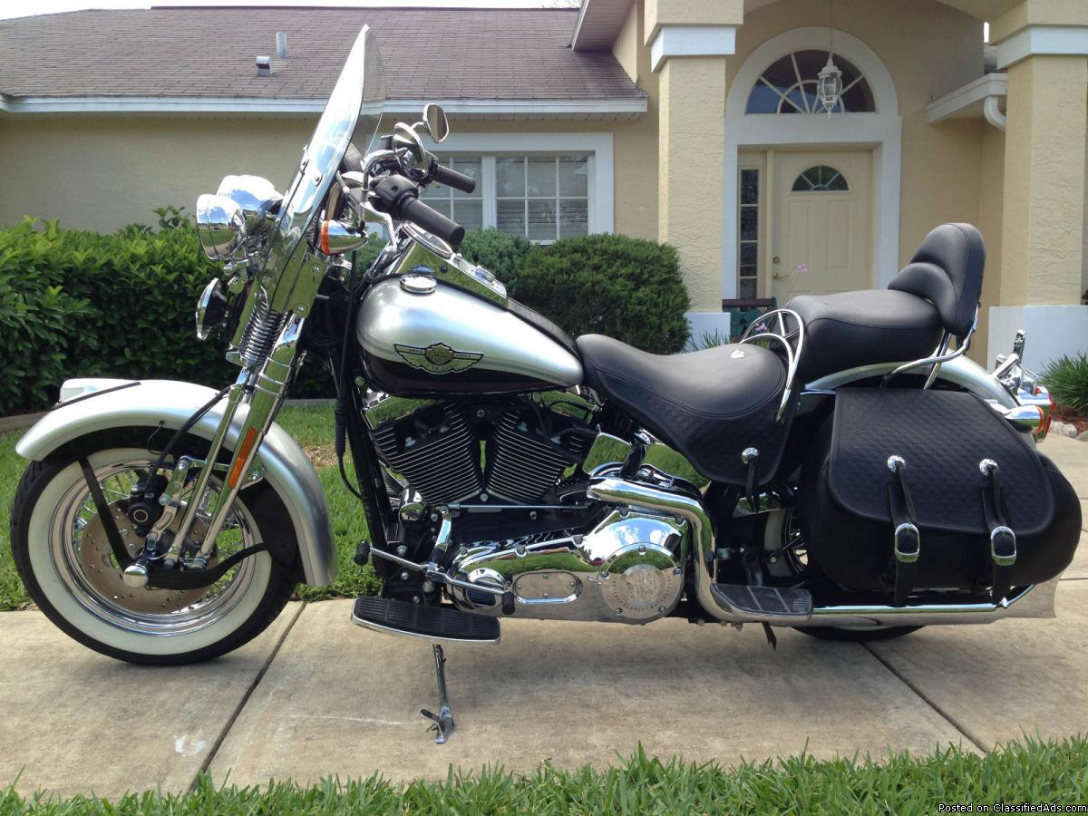 Harley-Davidson Heritage Softail Classic Injection #4