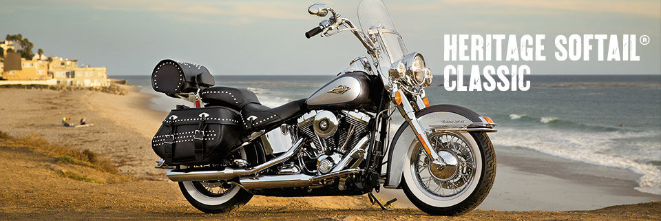 2014 Harley-Davidson Heritage Softail Classic Photos, Informations