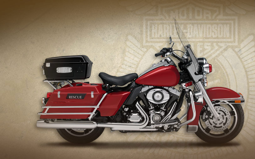Harley-Davidson Road King Fire - Rescue #1
