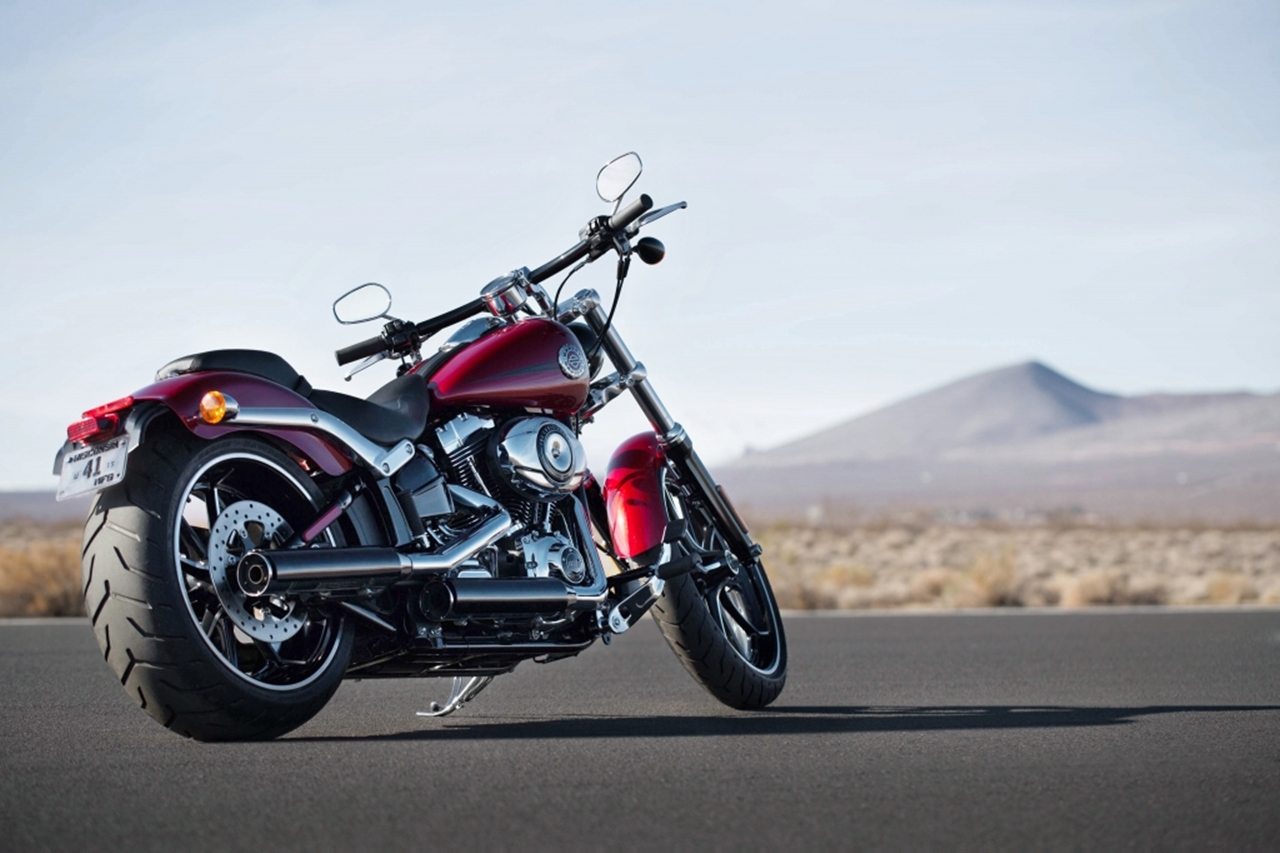 Harley-Davidson Softail Breakout Special Edition #1