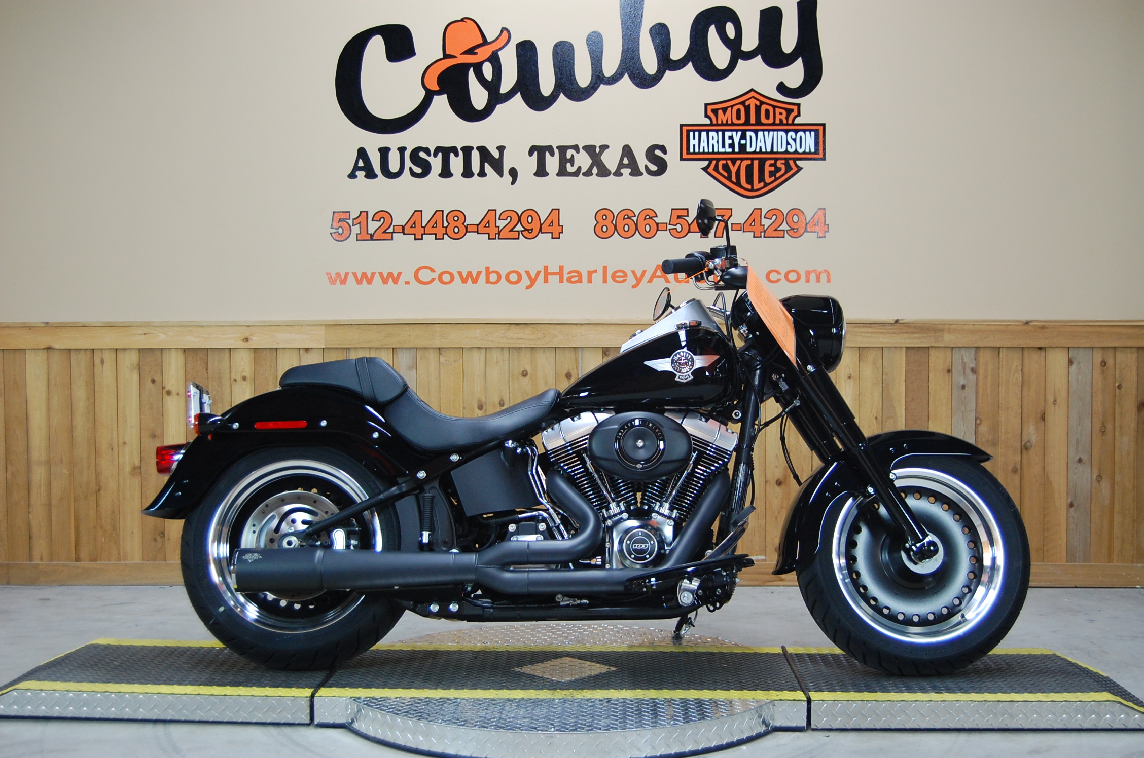2014 Harley-Davidson Softail Fat Boy Lo #3