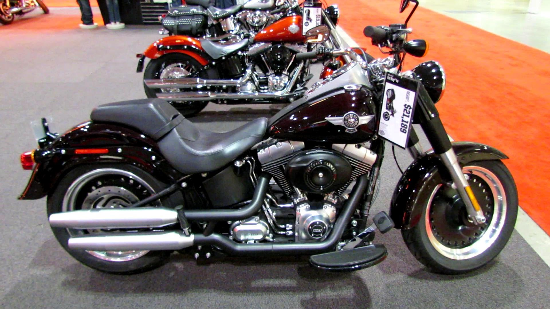2014 Harley-Davidson Softail Fat Boy Lo #7
