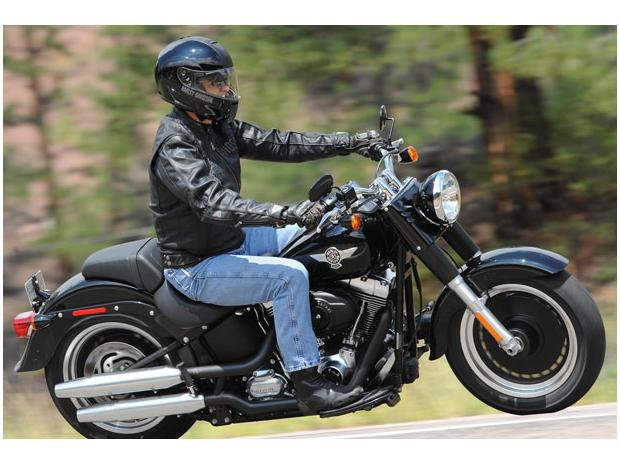 Harley-Davidson Softail Fat Boy Lo #3