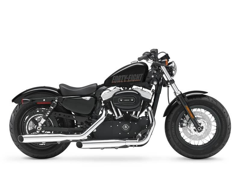 2013 Harley-Davidson Sportster Forty-Eight Dark Custom #6