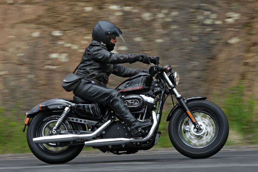 Harley-Davidson Sportster Forty-Eight Dark Custom #5