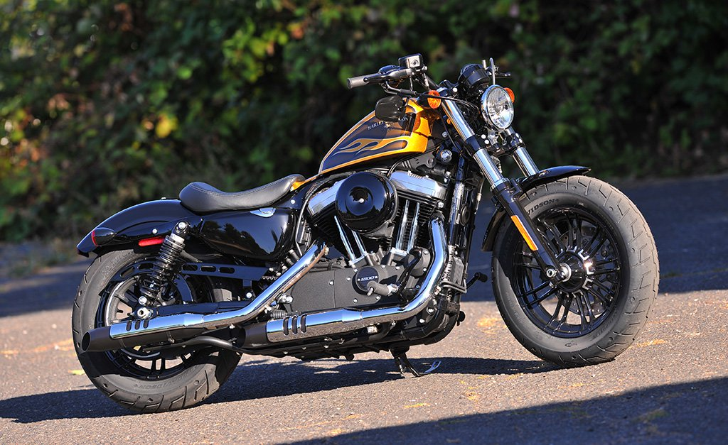 Harley-Davidson Sportster Forty-Eight Dark Custom #7
