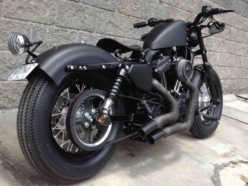 Harley-Davidson Sportster Forty-Eight Dark Custom #4