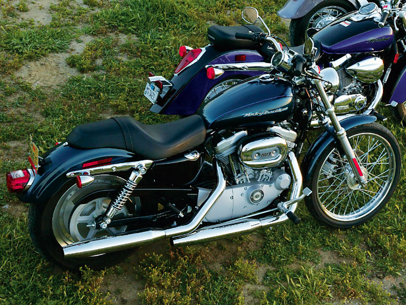 2006 Harley-Davidson XL883L Sportster 883 Low Photos