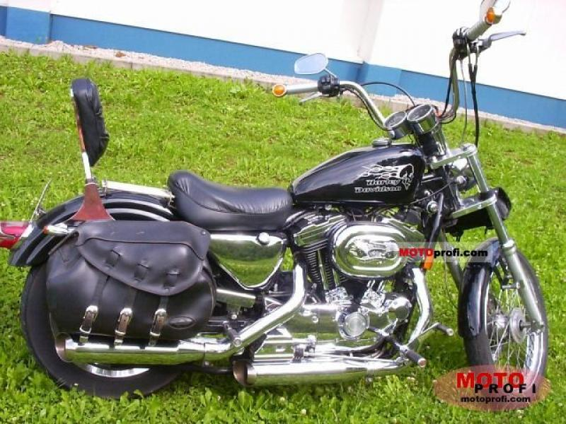 1988 Harley-Davidson XLH Sportster 1200 (reduced effect) #9