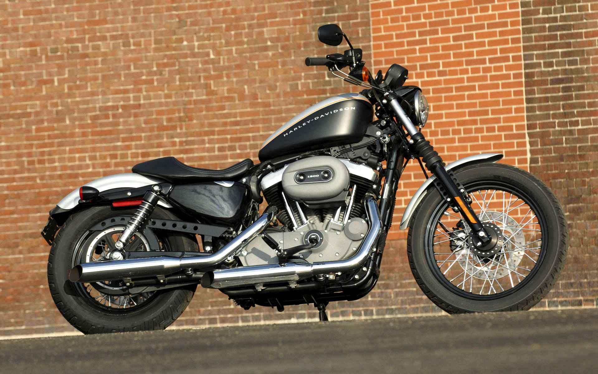 1988 Harley-Davidson XLH Sportster 1200 (reduced effect) #2