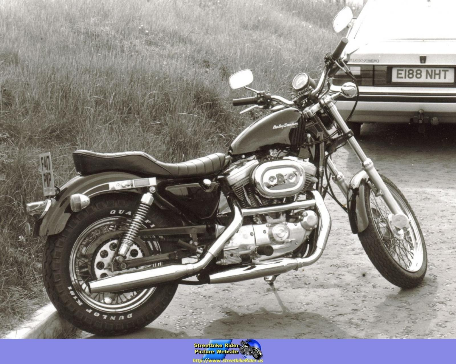1988 Harley-Davidson XLH Sportster 1200 (reduced effect) #3