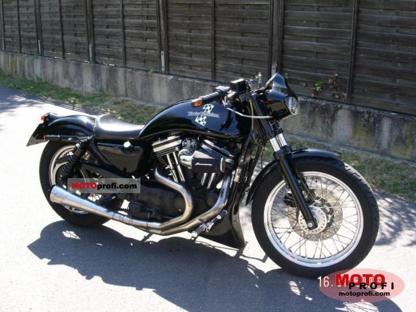 1989 Harley-Davidson XLH Sportster 1200 (reduced effect) #1