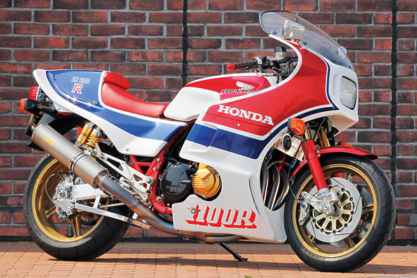 1983 Honda CB1100R (reduced effect) #3