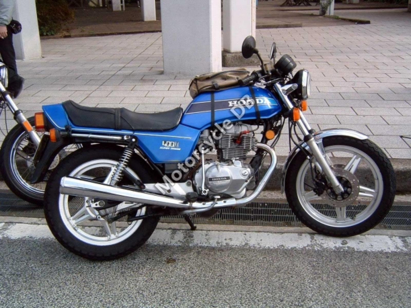 1980 Honda CB400N (reduced effect) #3