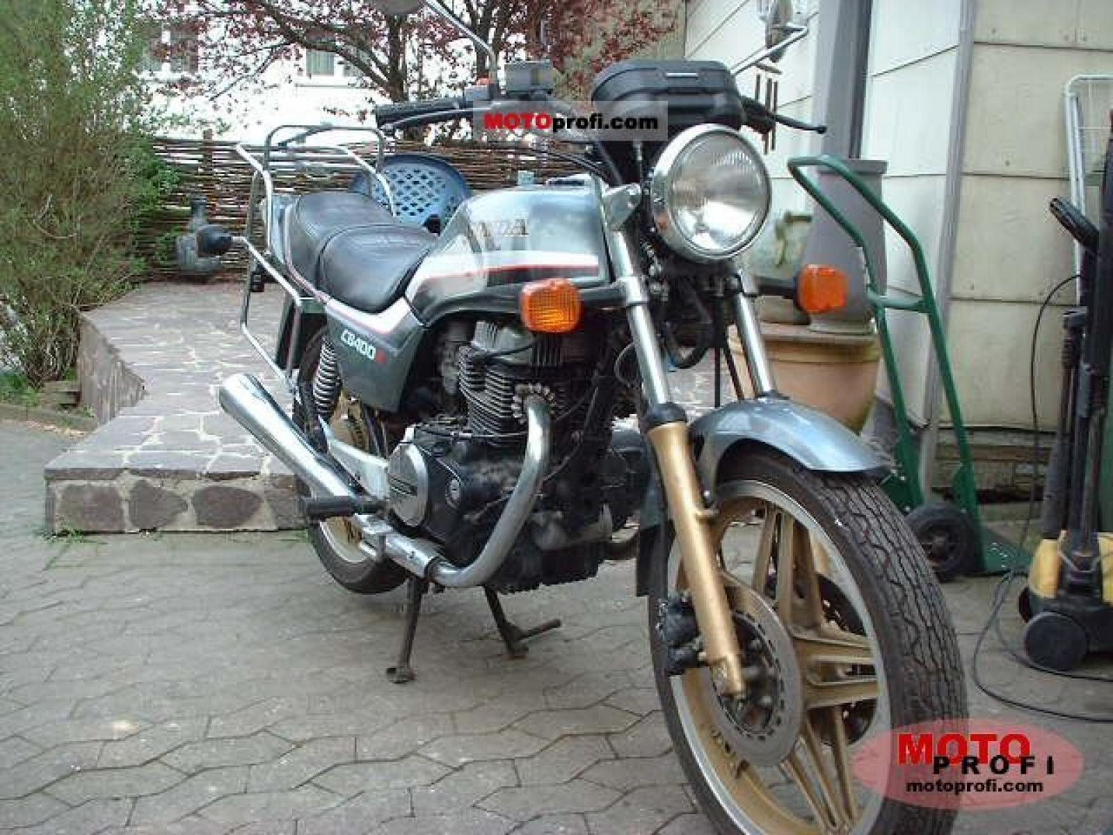1983 Honda CB400N (reduced effect) #6