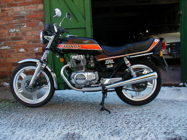 Honda CB750 (reduced effect) #2