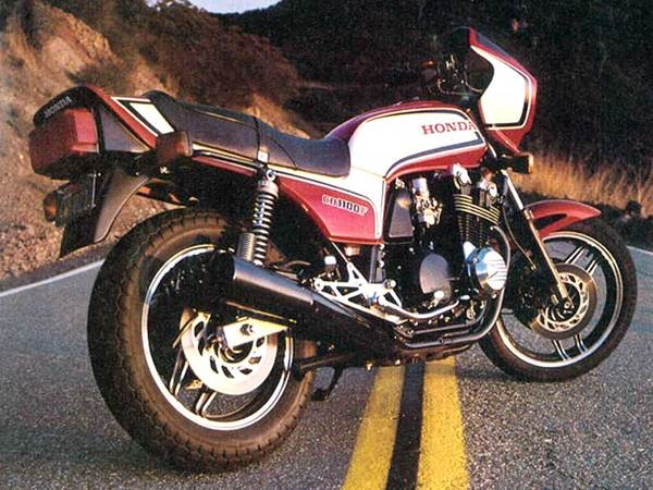 Honda CB750 (reduced effect) #3