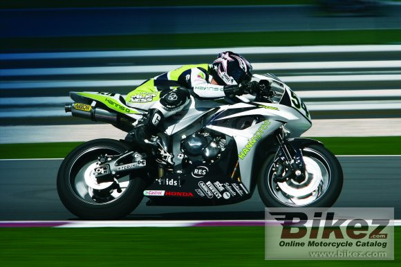 2008 Honda CBR600RR HANNspree Ten Kate Replica #4
