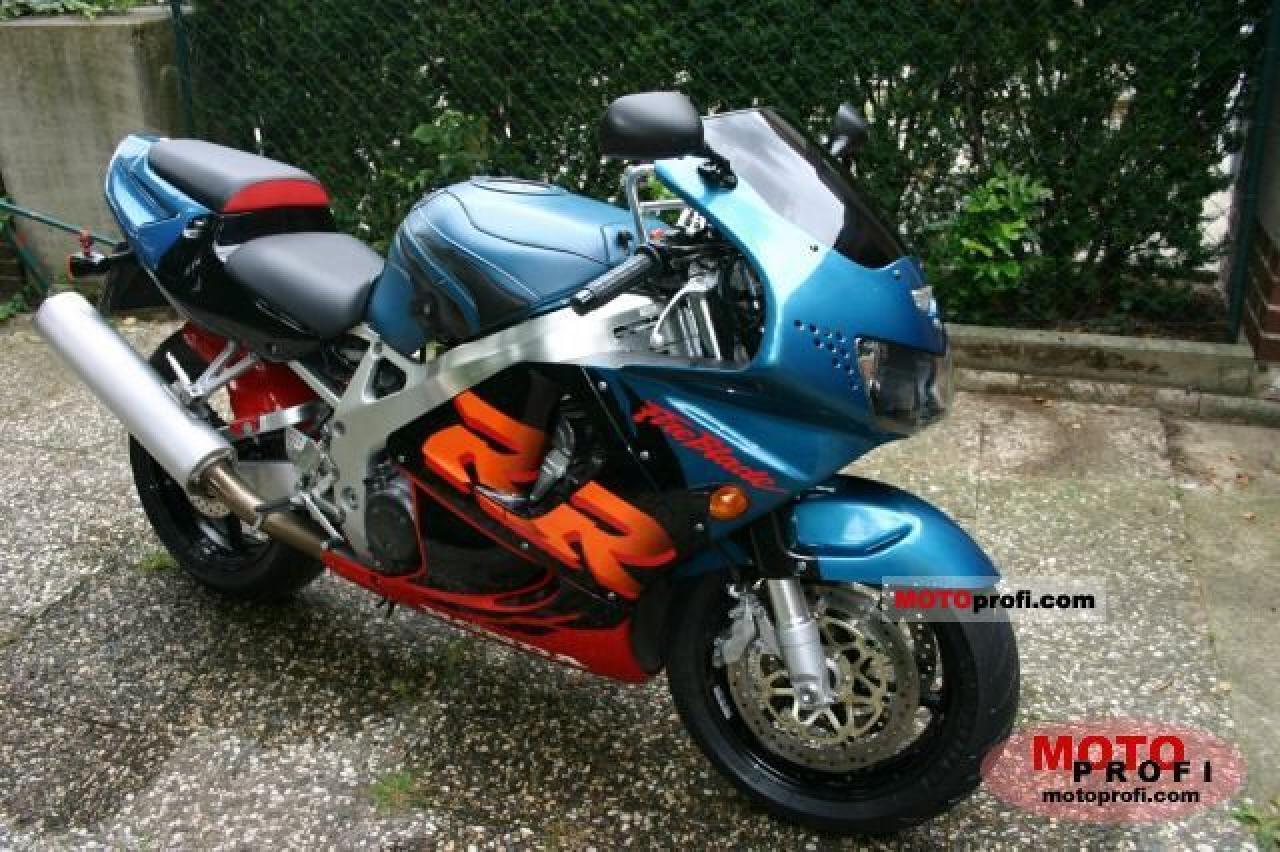 1992 Honda CBR900RR (reduced effect) #9