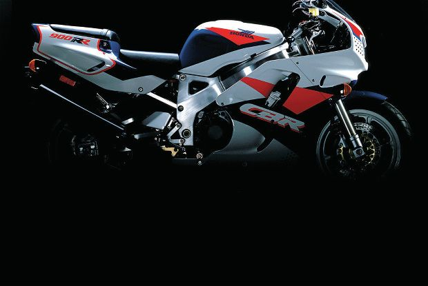 1992 Honda CBR900RR (reduced effect) #7