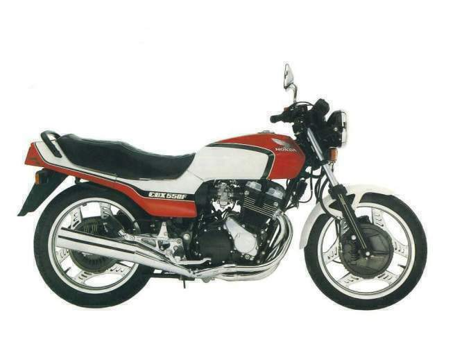 Honda CBX550F (reduced effect) #1