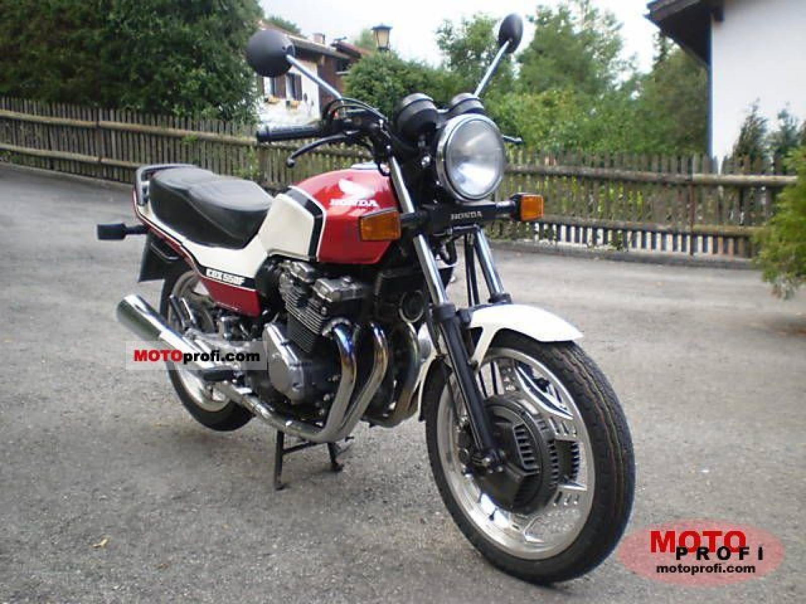 1983 Honda CBX650E (reduced effect) #5