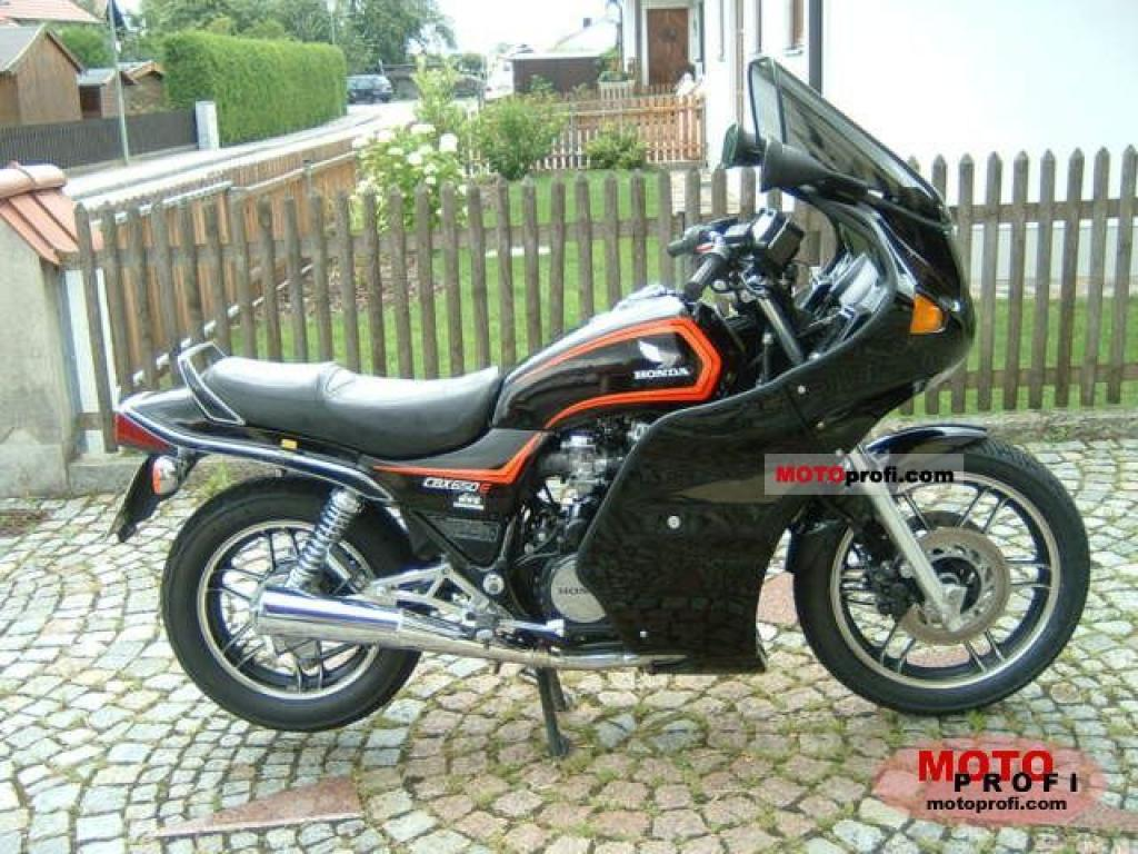 1983 Honda CBX650E (reduced effect) #2
