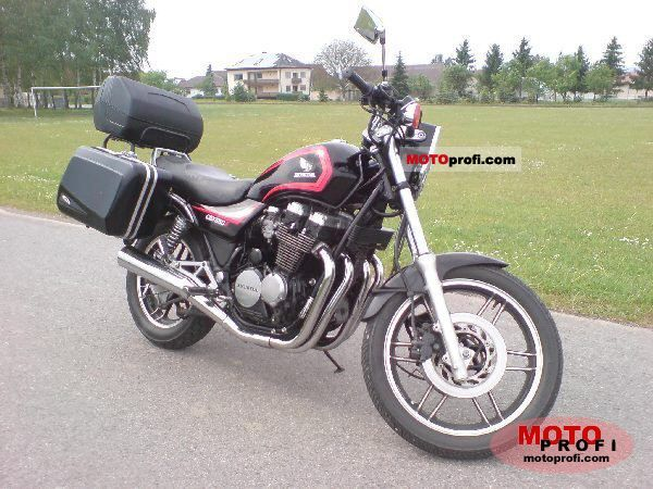 1983 Honda CBX650E (reduced effect) #3