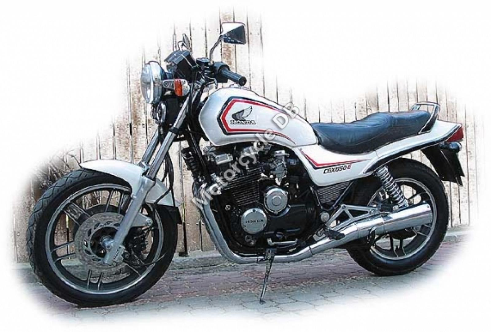 1983 Honda CBX650E (reduced effect) #9