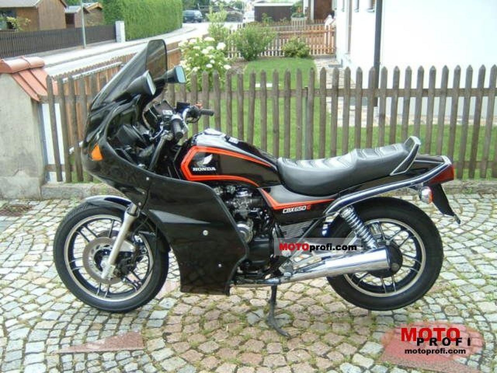 1983 Honda CBX650E (reduced effect) #1