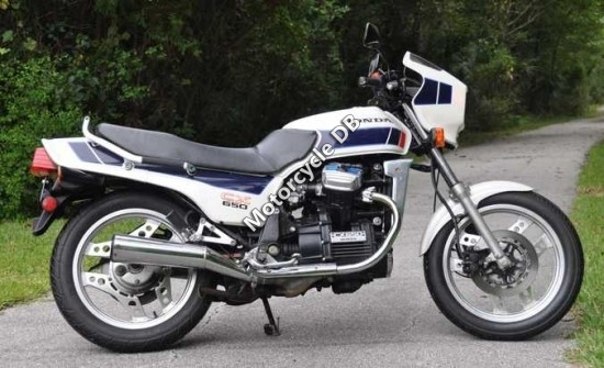 1983 Honda CBX650E (reduced effect) #4