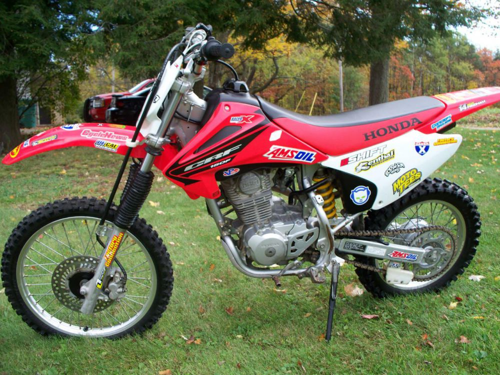 2005 Honda CRF150F Photos, Informations, Articles - Bikes