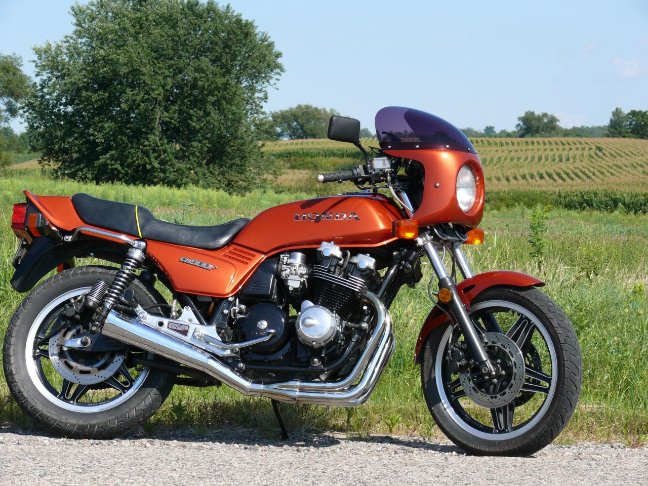 Honda CX500E (reduced effect) #2