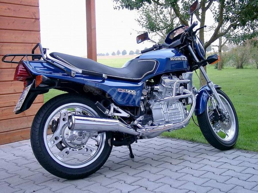 Honda CX500E (reduced effect) #1