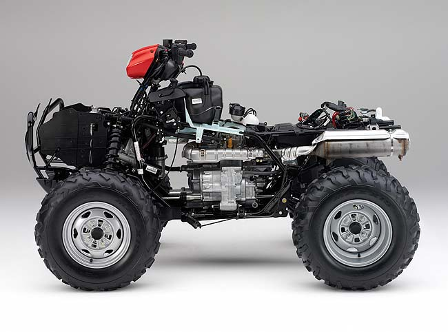 2009 Honda FourTrax Foreman Rubicon #7