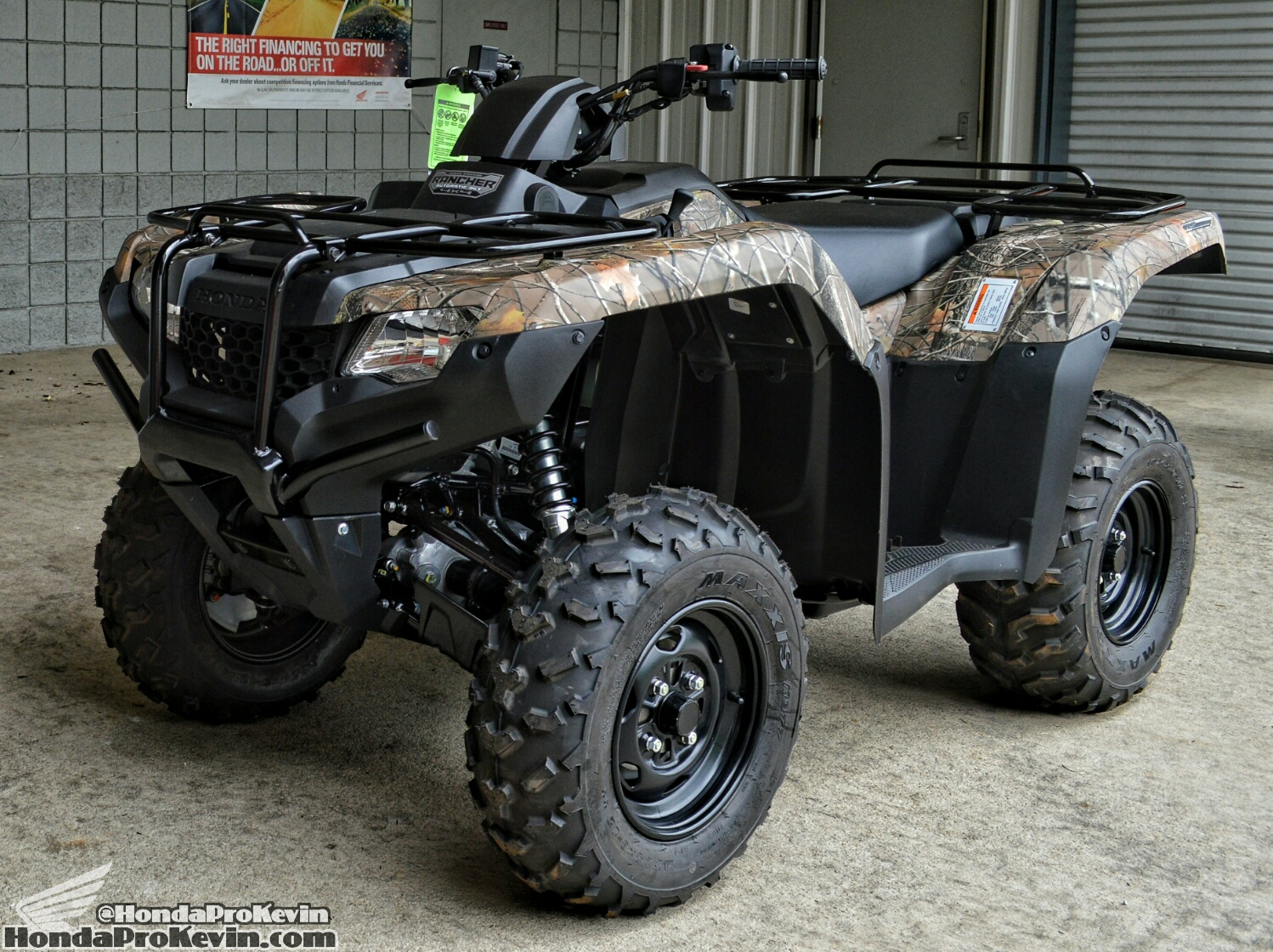 Honda FourTrax Rancher 4x4 #10