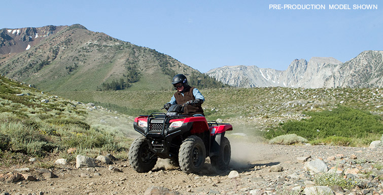 Honda FourTrax Rancher 4x4 #9