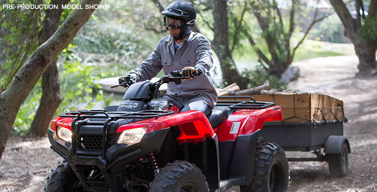Honda FourTrax Rancher 4x4 #5