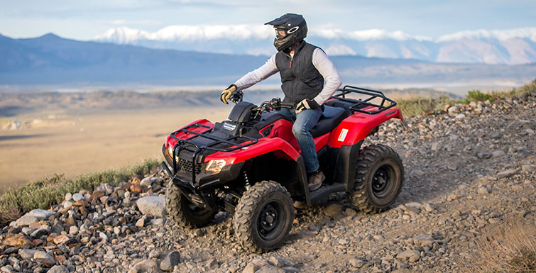 Honda FourTrax Rancher 4x4 #7