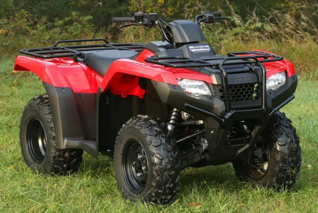 Honda FourTrax Rancher 4x4 #8