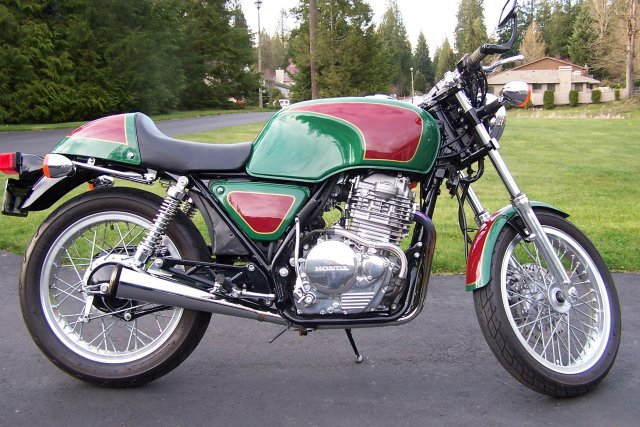 Honda GB500 Clubman (reduced effect) #2