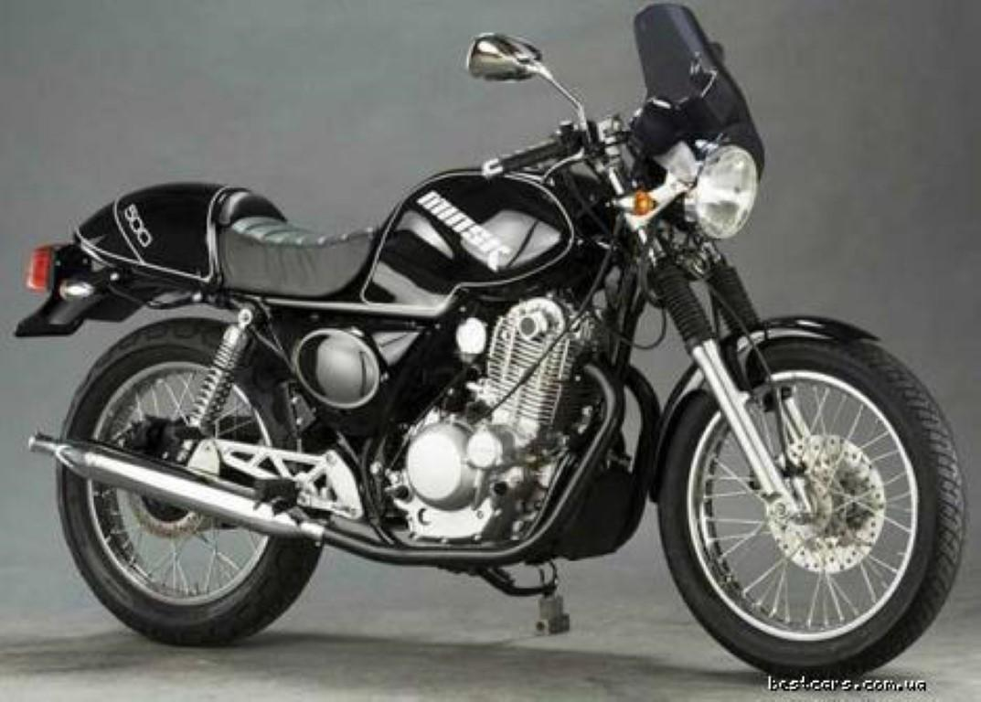 Honda GB500 Clubman (reduced effect) #1
