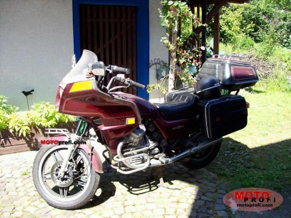 1982 Honda GL500 Silver Wing (reduced effect) #2