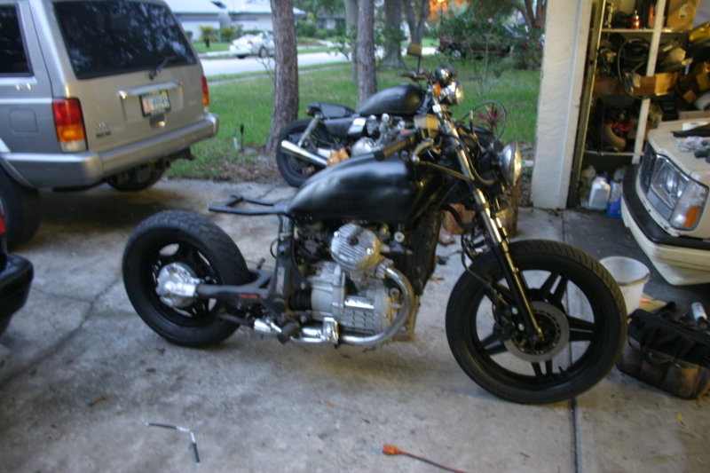 1982 Honda GL500 Silver Wing (reduced effect) #7