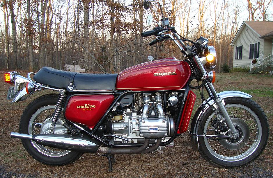1982 Honda GL500 Silver Wing (reduced effect) #3