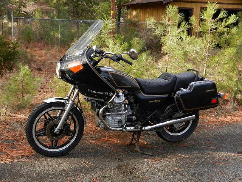 1982 Honda GL500 Silver Wing (reduced effect) #5