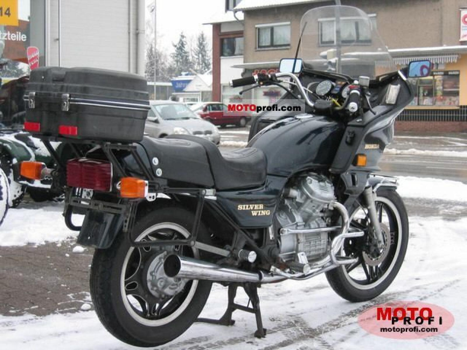 1983 Honda GL500 Silver Wing (reduced effect) #3