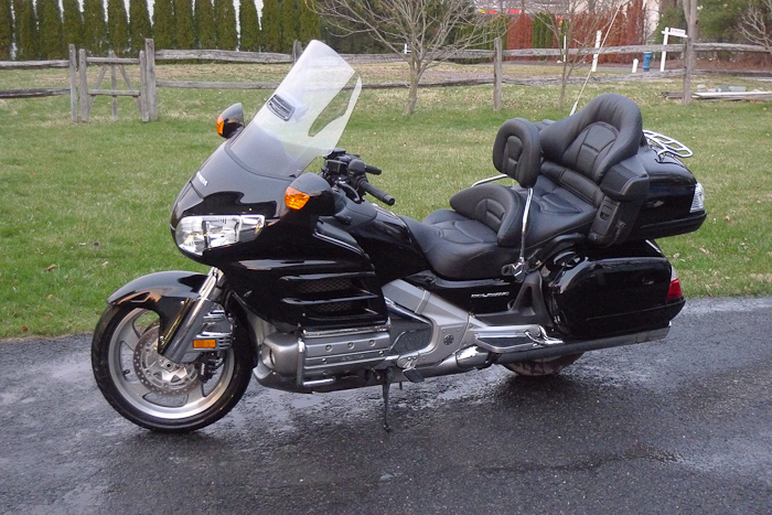 2008 Honda Gold Wing Airbag #8